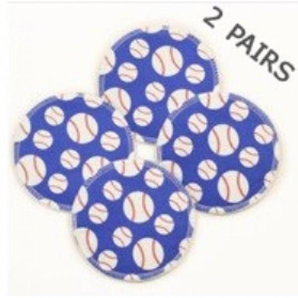 Baseballs Breast Pads