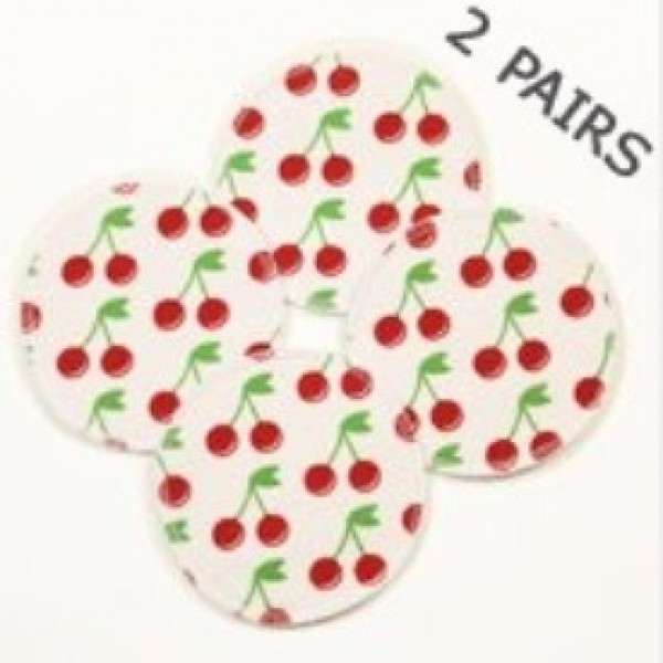 Cherry Breast Pads