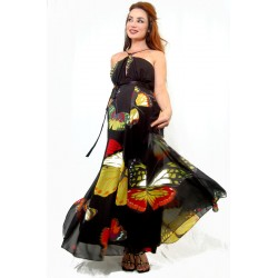 Butterfly Maternity Dress